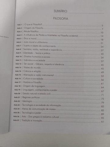 Livro de Filosofia 3°ano - Foto 3
