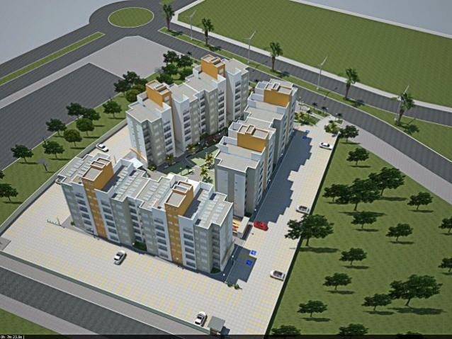Apartamento 2 quartos, 63 m² na 506 Norte - Residencial Mandela - Foto 11