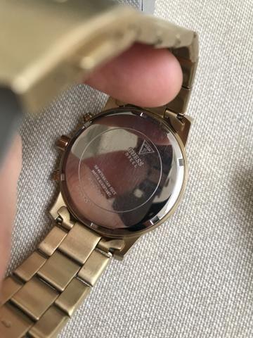 Relógio Guess Dourado masculino