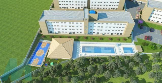 MNZ ? Apartamento 2 qts em Serra Sede ? Residencial Centro da Serra