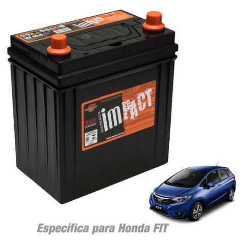 Bateria Impact Iaf40hd Premium especifica Honda Fit e City - Nova, lacrada