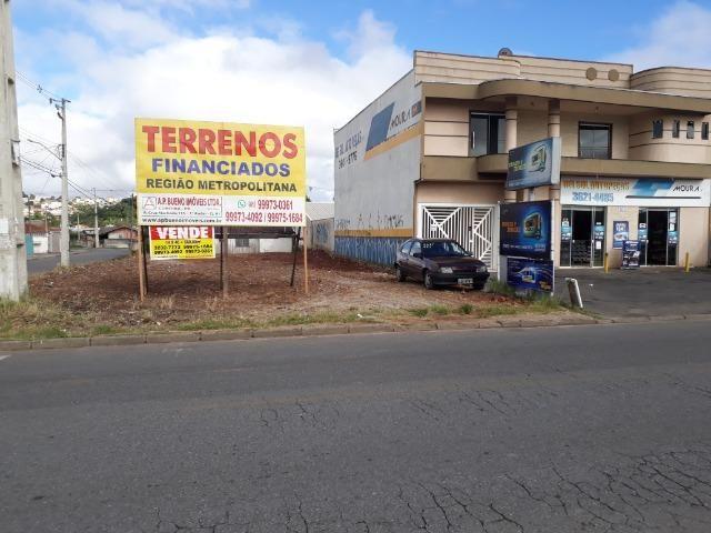 Terreno Comercial- Jardim Guaraituba- Colombo- 560m2 esquina- R$450.000,00