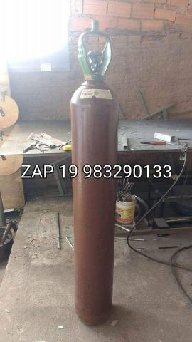 Cilindro de 10 metros argônio ou mistura cheio lacrado