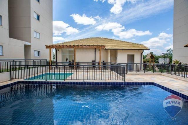Apartamento Res. Colinas de Andaluzia, Cosmópolis. - Foto 3