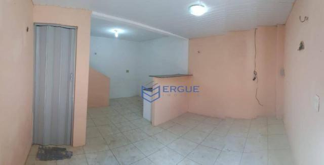 Casa com 2 dormitórios para alugar e vender, 60 m² por r$ 450,00/mês - dias macedo - forta