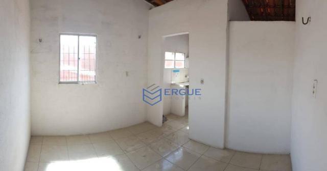 Casa com 2 dormitórios para alugar e vender, 60 m² por r$ 450,00/mês - dias macedo - forta - Foto 12