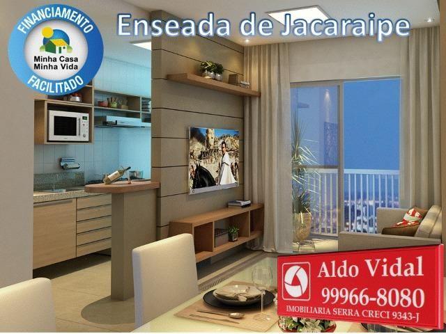 ARV34- Apê Novo em Jacaraipe, 2 quartos com suíte e varanda - Foto 16