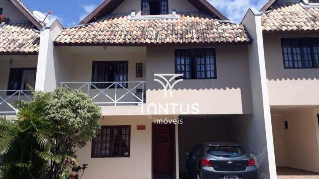 Sobrado com 3 dormitórios à venda, 115 m² por r$ 615.000 - santa cândida - curitiba/pr - Foto 2