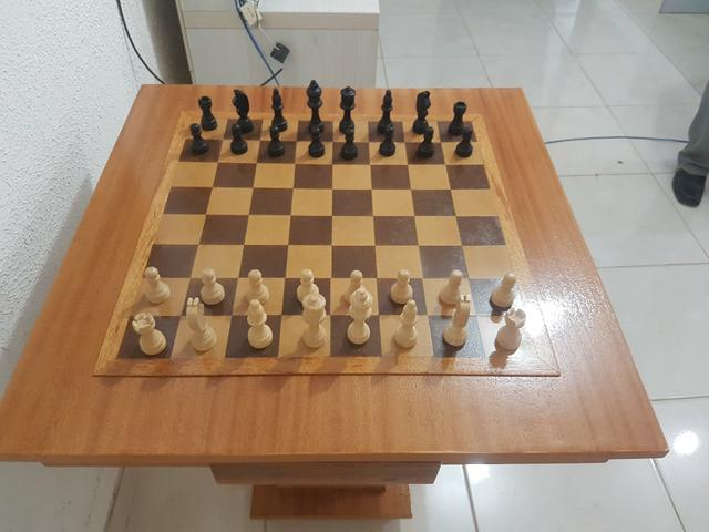 Mesa de xadrez de otima qualidade - Foto 4