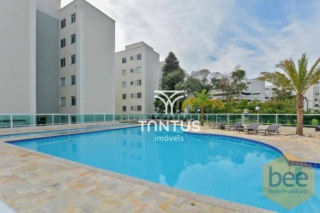 Apartamento com 2 dormitórios à venda, 50 m² por r$ 240.000 - pinheirinho - curitiba/pr - Foto 14