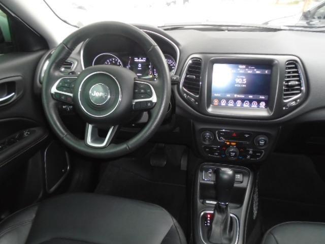 Compass Diesel 4x4 Longitude Automática 2018 Brnaca - Foto 8