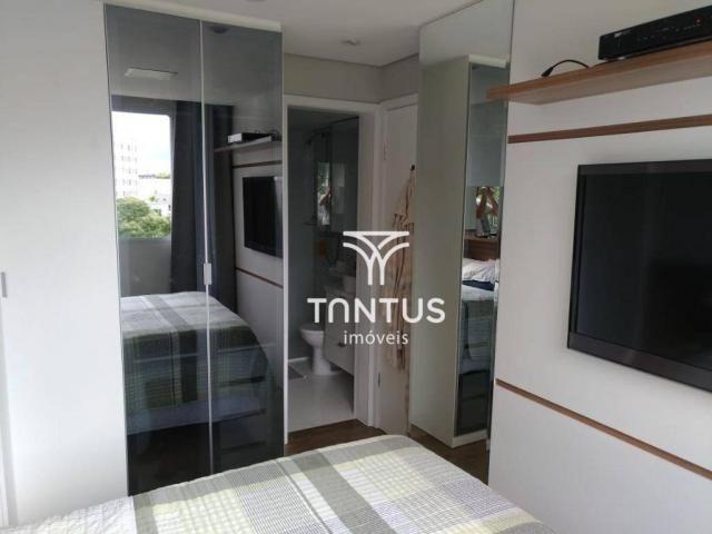 Apartamento com 2 dormitórios à venda, 50 m² por r$ 240.000 - pinheirinho - curitiba/pr - Foto 13