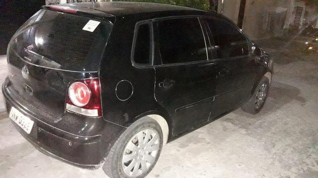 Polo 2010/2011 com GNV (sinistro)