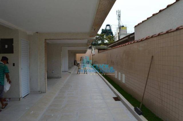 Casa com 2 dormitórios à venda, 87 m² por R$ 380.000,00 - Estuário - Santos/SP - Foto 16