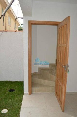 Casa com 2 dormitórios à venda, 87 m² por R$ 380.000,00 - Estuário - Santos/SP - Foto 2