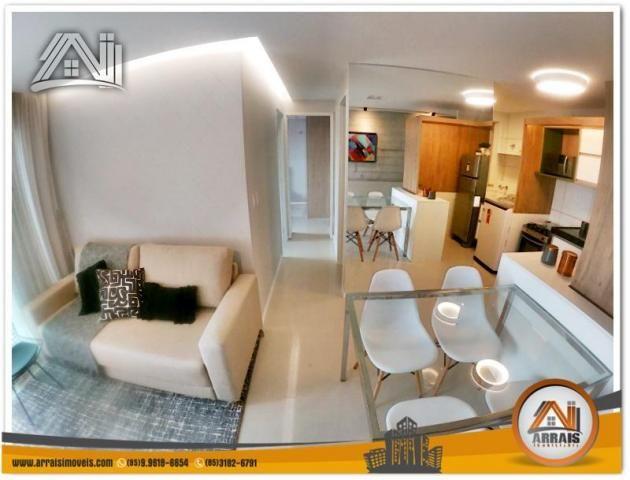 Apartamento com 2 Quartos mais Suite Master à venda no Bairro Benfica - AQUARELA CONDOMÍNI - Foto 7