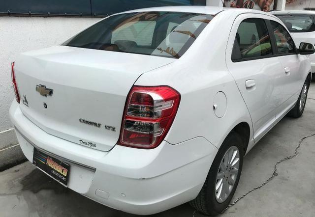 Chevrolet Cobalt ltz 1.4 completo c/ multimídia _ peq entrada + 48x 669,99 fixas - Foto 7