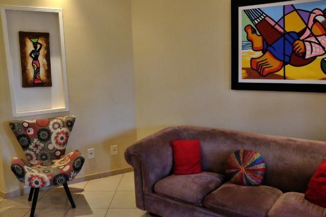Linda! Excelente localização em Vicente pires, 03 quartos, churrasqueira - Foto 4