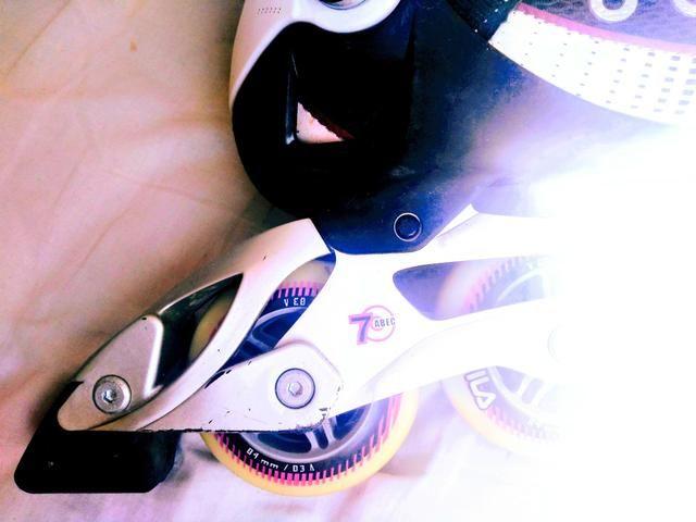 VENDO Roller FILA! Pouco uso! - Foto 4