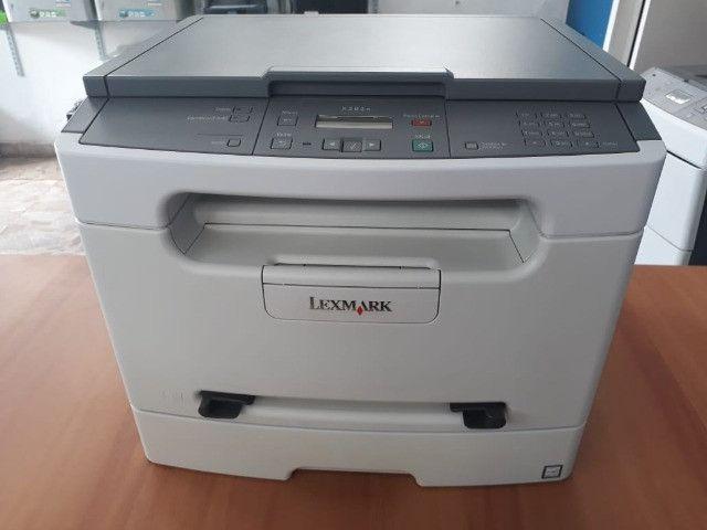 Impressora multifuncional laser com rede