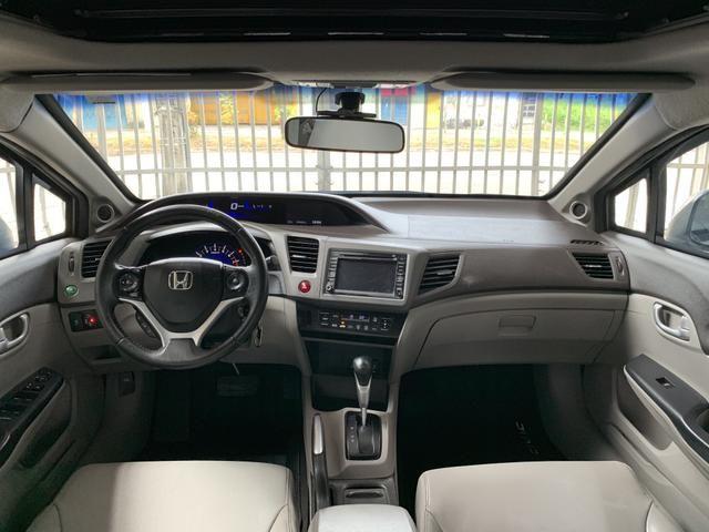 Honda Civic EXS 2013 (BLINDADO) - Foto 7