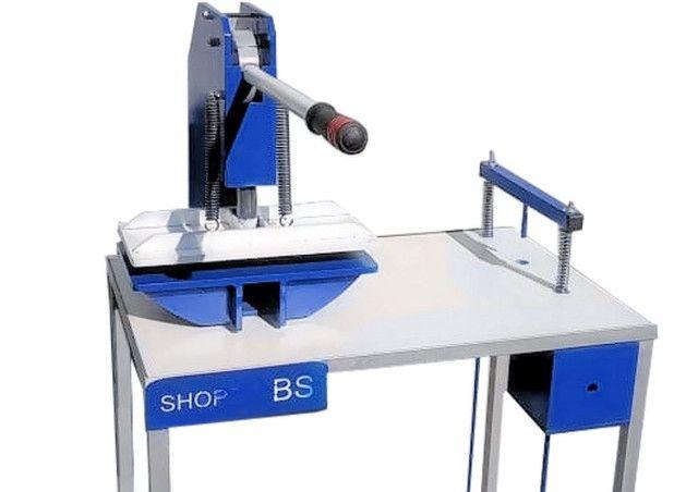 Maquina de fabricar chinelo Manual Completa - Shopbs.com.br - Foto 3