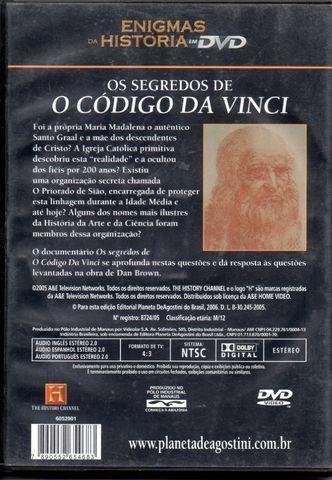 Dvd - Os Segredos De O Código Da Vinci - Foto 2