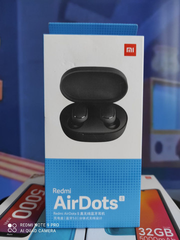 Redmi Air dots da Xiaomi..Alto nível! NOVO LACRADO COM GARANTIA