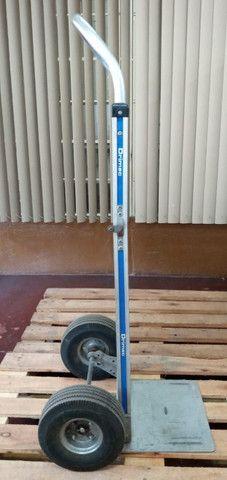 Carrinho carga dobrável em alumínio Drimec Semi-novo - Foto 5