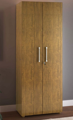 Promoção - Roupeiro 2 portas e 5 prateleiras por apenas R$269,90 a vista - Foto 2