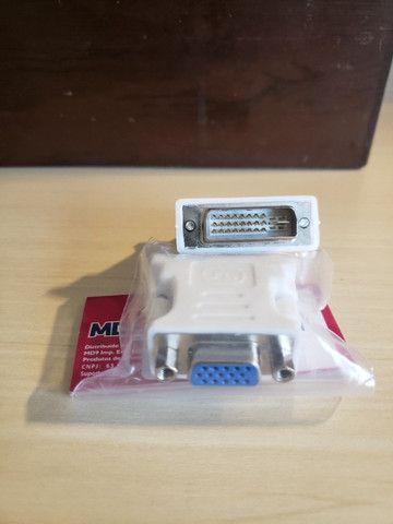 Conversor e Adaptador de Vídeo DVI para VGA - Foto 5