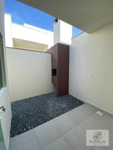 Casa com 2 dormitórios à venda, 76 m² por R$ 225.000,00 - Itacolomi - Balneário Piçarras/S - Foto 13