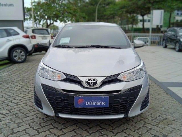 Toyota Yaris 2021 com 17.000km muito novo! - Foto 7