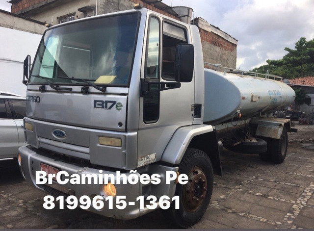 Ford cargo 1317 ano 2007 tanque  - Foto 2