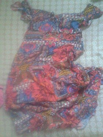 Vestido Ciganinha indiano
