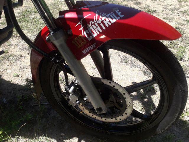 Moto fan 150 cc cg Honda semi nova  - Foto 6
