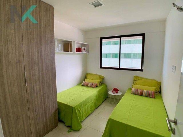 Apartamento com 3 dormitórios à venda, 114 m² por R$ 811.023,29 - Guaxuma - Maceió/AL - Foto 10