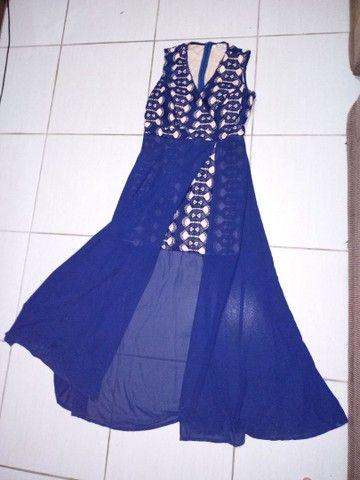 Vestido azul marinho - Foto 3