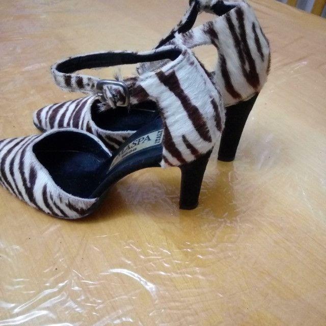 Sapato social salto alto italiano