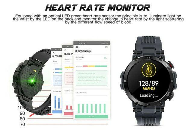 Smartwatch Senbono D13 (Leia a descrição) - Foto 5
