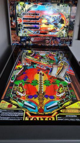 Fliperama Pinball Arcade - 240 jogos - Excelente estado  - Foto 6