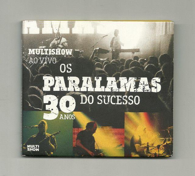 CD - Paralamas do Sucesso - 30 anos Ao vivo