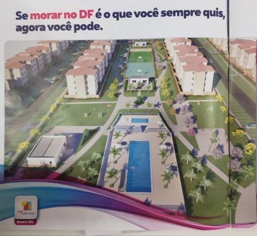 Apartamento 2 quartos Total Ville em Santa Maria prestação a partir de 500,00
