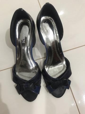 8f6e56de7b Sapato azul Via Marte n  36 - Roupas e calçados - Bonfim Paulista ...