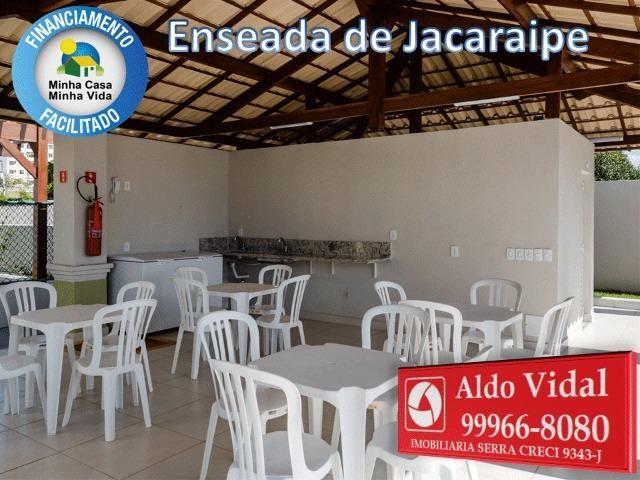 ARV34- Apê Novo em Jacaraipe, 2 quartos com suíte e varanda - Foto 6