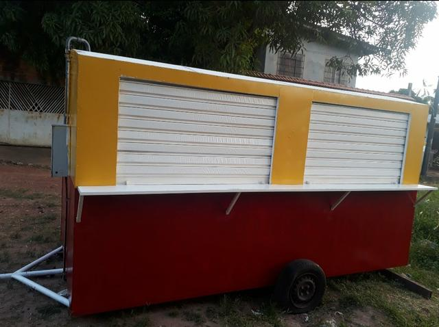 Vende-se um trailer pra lanchonete - Foto 2