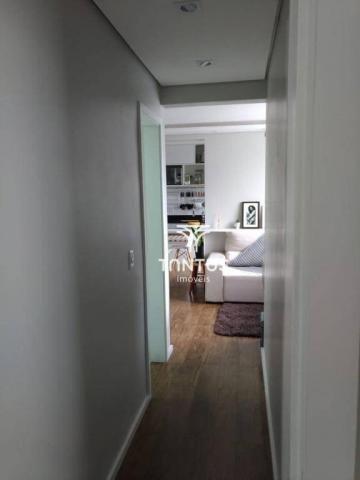Apartamento com 2 dormitórios à venda, 50 m² por r$ 240.000 - pinheirinho - curitiba/pr - Foto 7