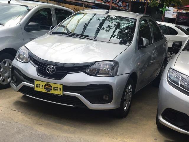 Toyota Etios 2019 + GNV ( Único Dono, novo) - Foto 2