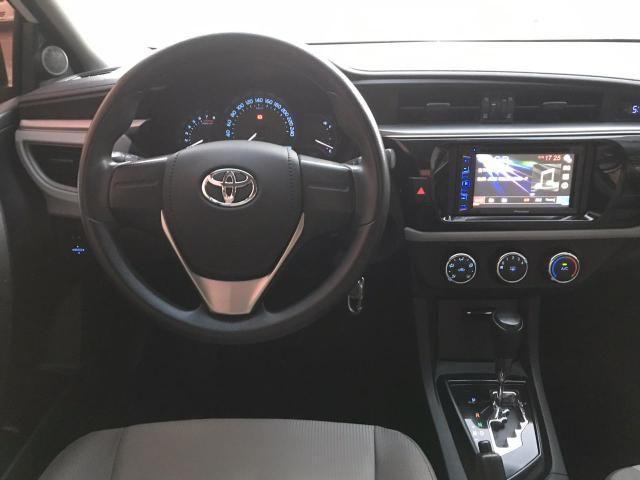 Toyota corolla gli 1.8 automático cvt flex 2015/2016 - jpcar - Foto 6