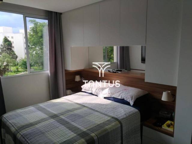 Apartamento com 2 dormitórios à venda, 50 m² por r$ 240.000 - pinheirinho - curitiba/pr - Foto 11